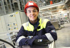 Reece Wright, automation trainee at AkzoNobel Ashington