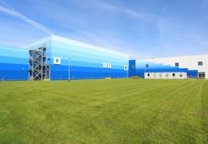 AkzoNobel's new state-of-the-art facility in Ashington.
