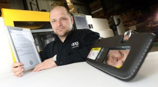 Paul Anderson, group quality manager at Omega Plastics.