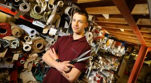 Northumberland College apprentices, including Callum McPhail, have reaped huge benefits from standards-based learning at luxury upholstered furniture manufacturer, George Smith.