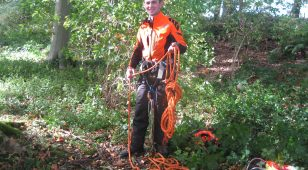 Northumberland College and Hauxwell Hall Estate apprentice, Jack Knights.
