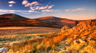 The Cheviot and Hedgehope – photo credit A Hope.