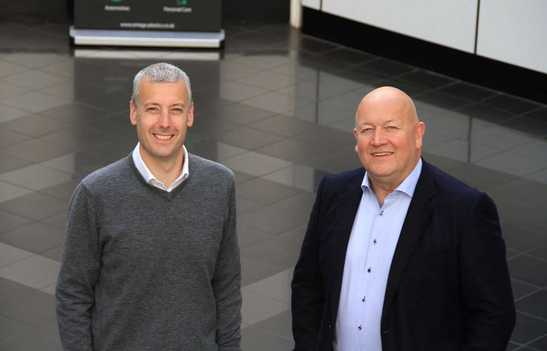 Newly appointed Group Managing Director, Craig Swinhoe, with New Executive Chair, Dave Crone.