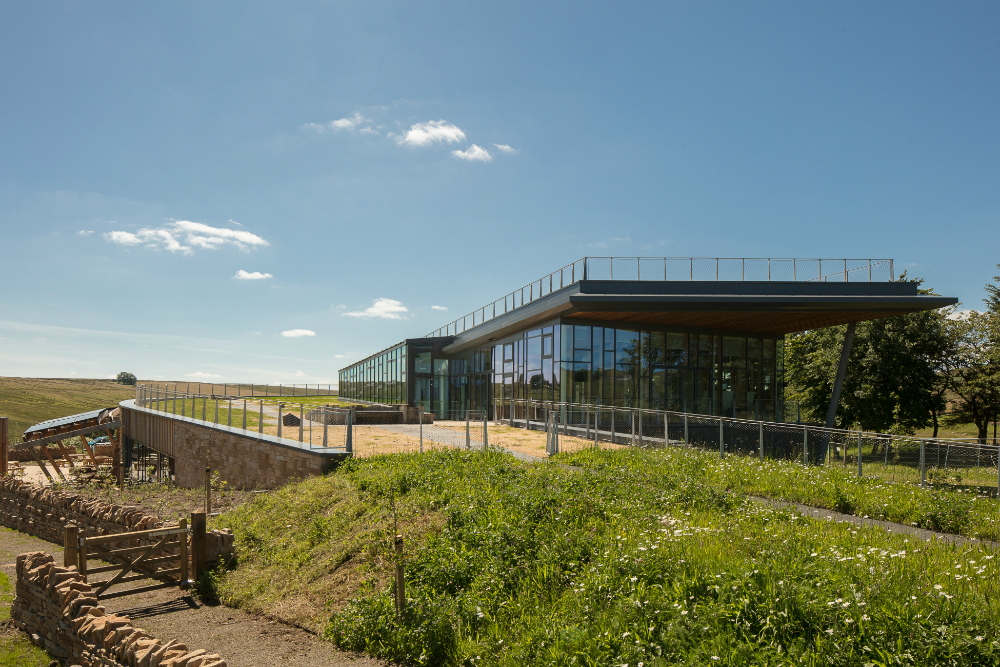 The Sill: National Landscape Discovery Centre at Once Brewed on Hadrian's Wall.