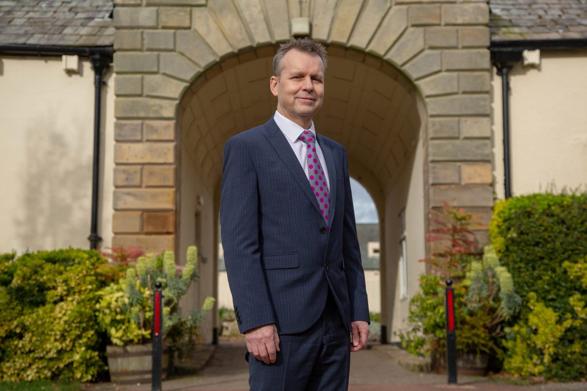Nigel Harrett, Principal of Northumberland College.