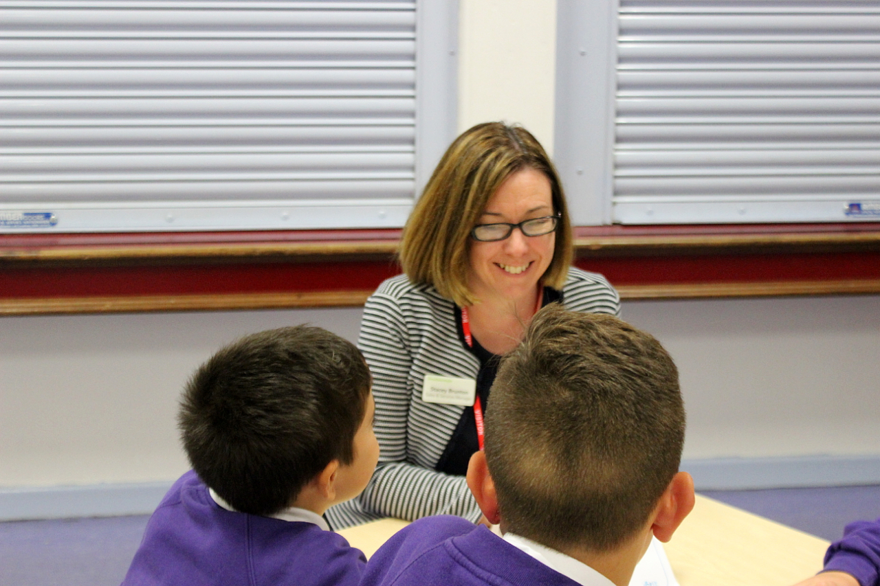 Stacey Brunton, Sales and Services Manager at Nuffield Health Newcastle Hospital pictured at the career speed dating event.