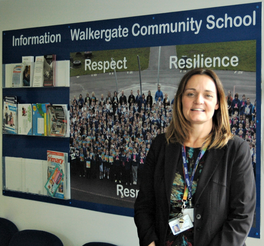 Debi Bailey, Chief Executive Officer at Newcastle East mixed multi Academy Trust.