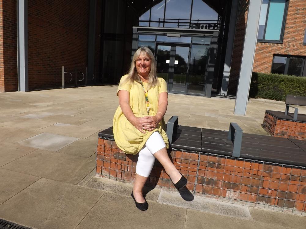 Jill Watkin, newly-appointed Philanthropy Manager at Blyth Star Enterprises.