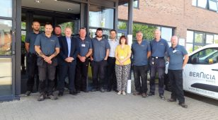 The Bernicia County Durham Handyperson Service team.