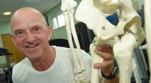 62-year old Martin Train underwent alternate hip and knee replacement surgeries at Nuffield Health Tees Hospital.