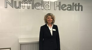Maggie Harris, newly appointed Matron at Nuffield Health Tees Hospital.